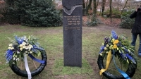 Holocaustmonument in Barneveld onthuld